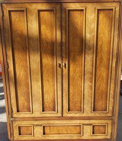 Basic Witz Mid-Century Armoire / Dresser / Cabinet $25 for Sale in Huntington Beach,  CA