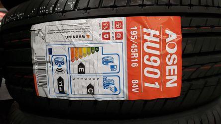Aosen tires !!! for Sale in Baldwin Park,  CA