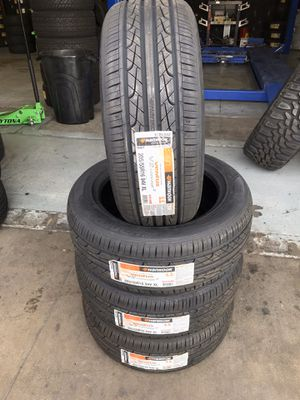 BRAND NEW SET OF HANKOOK TIRES 205/55/16 for Sale in Rialto, CA
