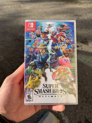 Super Smash Bros Ultimate (BrandNew) Nintendo Switch for Sale in Riverside, CA