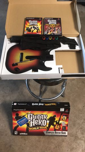PS2 Guitar Hero for Sale in Eau Claire, WI