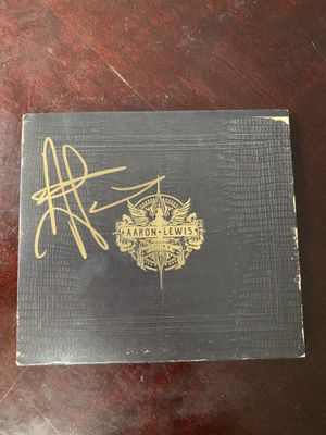 """Used, Autographed Aaron Lewis """"State I'm In"""" album (Rare) for Sale for sale  Colorado Springs, CO"""