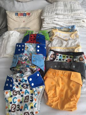 Cloth diapers cleaned and sanitized for Sale in Durham, NC