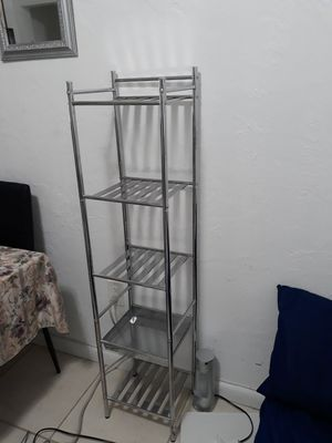 Brand new metal shelves for Sale in Miami Beach, FL
