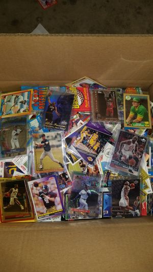 Sports cards- huge basketball cards , football cards , baseball cards around 20lbs, packs unopened. Lot #42 for Sale in Roseburg, OR