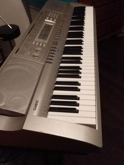 Casio Keyboard WK 200 for Sale in Snellville,  GA