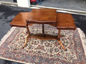 Vintage Console Table for Sale in Holly Springs, NC