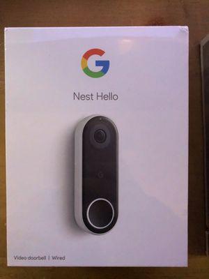 Nest Hello Video Doorbell for Sale in Woodbridge Township, NJ