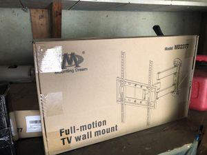 Full motion tv mount 32 inch to 75 for Sale in Wichita, KS