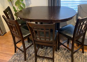 Dining table with leaf extension for Sale in Pacific, WA
