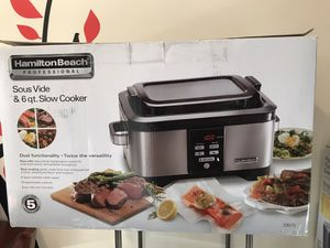 6qt slow cooker and sous vide for Sale in Groveport, OH