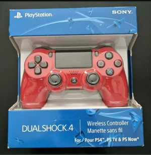 Sony PlayStation 4 Dualshock 4 Magma Red Brand New for Sale in Tolleson, AZ