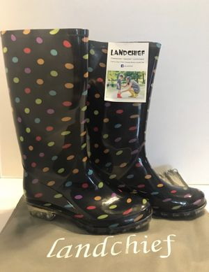 LANDCHIEF Comfortable Woman Rain Boots NEW for Sale in Los Angeles, CA