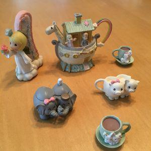Precious Moments: Noah's Ark Teacup Set for Sale in Brandon, MS