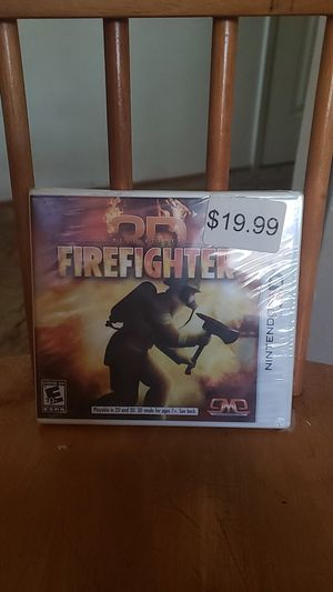 Brand New Factory Sealed Nintendo 3DS FireFighter for Sale in Hayward, CA