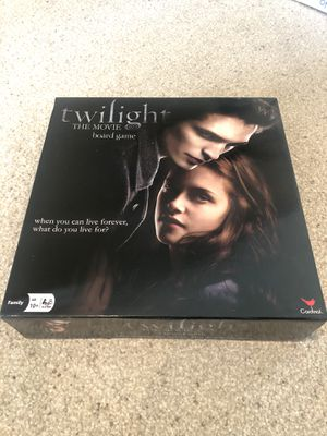 Twilight The Movie Board Game for Sale in Schaumburg, IL