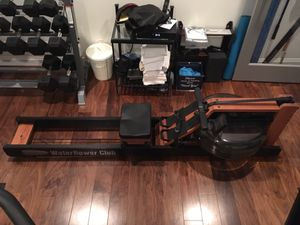 WATERROWER CLUB ROWING MACHINE WITH S4 MONITOR for Sale in North Bethesda, MD