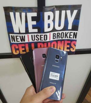 GALAXY S9 64GB UNLOCKED FOR ALL CARRIERS 2A for Sale in Frisco, TX