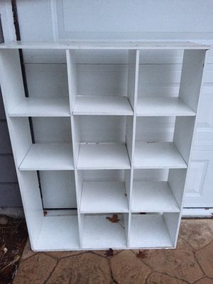 Shoe Cubby Book Shelf free for Sale in Tacoma, WA