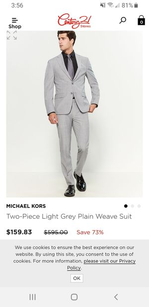 Michael Kors Suit( 42 L) OBO for Sale in Tacoma, WA