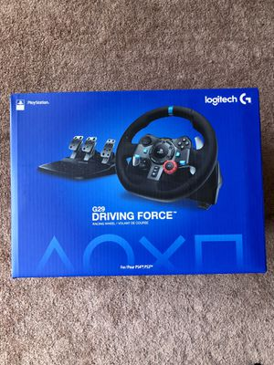 Logitech G29 Racing Wheel + Pedals (PS4 or PC) for Sale in Los Angeles, CA