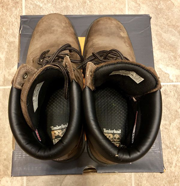 "Timberland Pro Direct Attach 6"" Steel Toe Waterproof Insulated"
