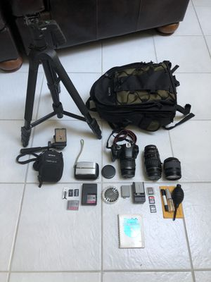 Canon Rebel XSi camera set with Sony point and shoot for Sale in Orlando, FL