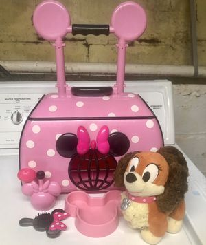 Minnie Mouse Pet Carrier Toy for Sale in Essex, MD