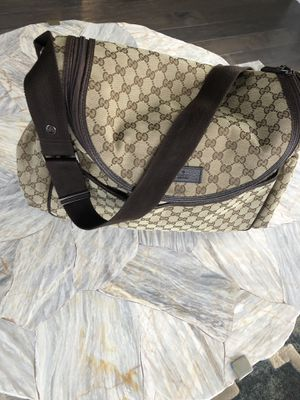 Gucci GG canvas diaper bag for Sale in Walled Lake, MI