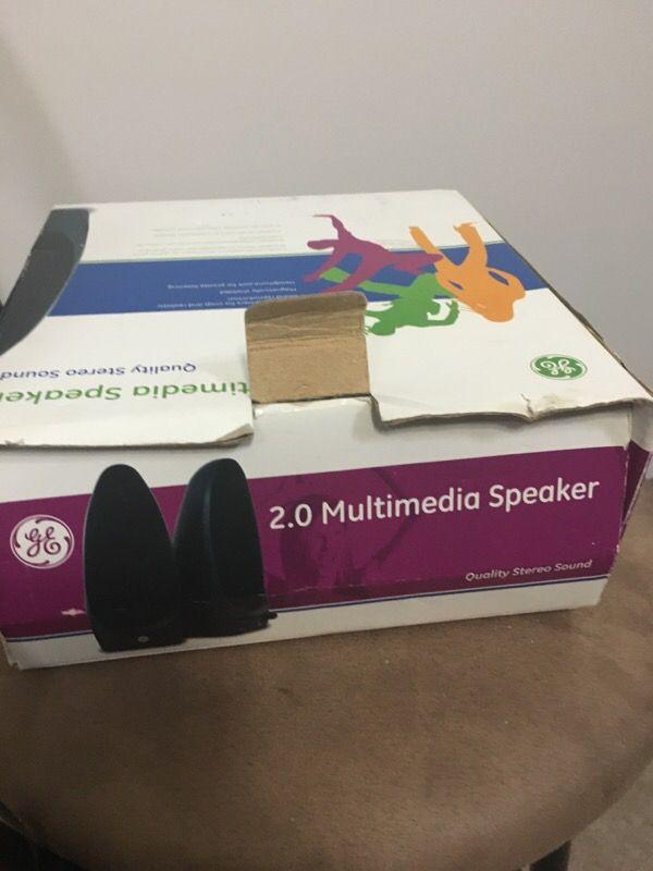 2.0 Multimedia Speakers