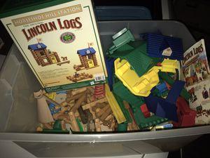 Lincoln logs for Sale in Lebanon, TN