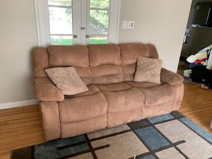 Tan couches for Sale in Riverside, CA