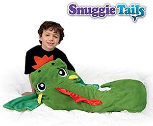 Snuggie Tails Kid's Soft Shark Cuddly Blanket - Green for Sale in Lafayette, CO