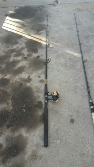 Fishing rod and spinning reel for Sale in Los Angeles, CA