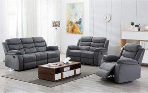 Grey sofa set 🎈🎈🎈🎈🎈🎈🚚 for Sale in Fresno, CA