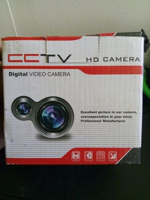 CCTV HD digital video camera for Sale in Missoula, MT