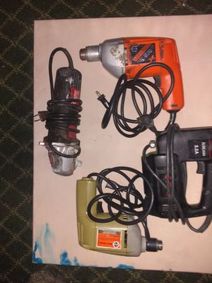 Assorted power tools for Sale in Denver, CO