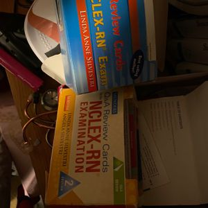 Study Flash Cards Nclex RN Study Guide 20.00 Each for Sale in Stockton, CA