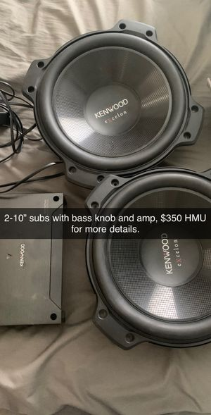 Kenwood subs for Sale in Victoria, TX