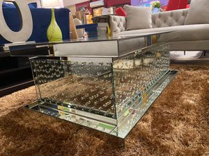 New!! Tempered Glass Coffee Table and End Table • We Deliver 🚚 • Apply from your phone 📱• Make your Order for Sale in Las Vegas, NV