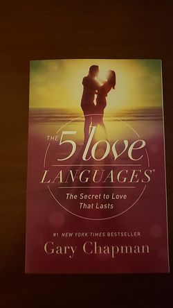 The 5 love languages ® The secret to love that lasts. for Sale in San Angelo,  TX
