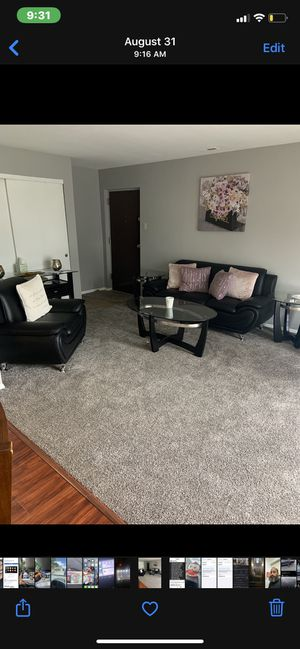 Sofa and chair leather excellent condition for Sale in Glen Burnie, MD