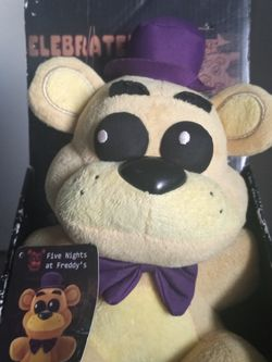 Rare/Retired Fredbear Plushie Official From Sanshee for Sale in Modesto,  CA