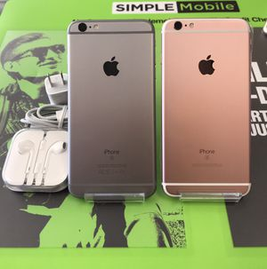 iPhone 6s Plus 32GB Unlocked Excellent Condition $219 each for Sale in Raleigh, NC