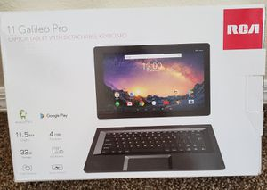 RCA 11 Galileo Pro Laptop Tablet With Detachable Keyboard for Sale in Altamonte Springs, FL