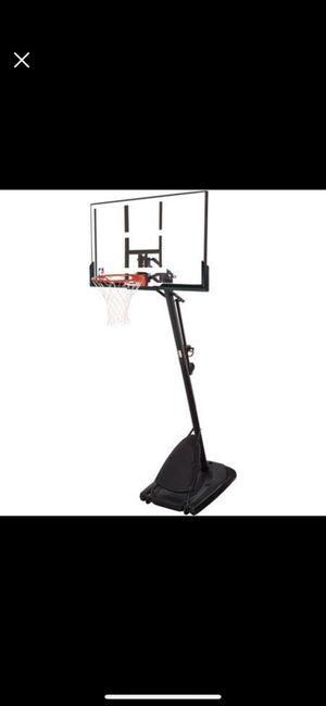 Adjustable, portable, like new basketball hoop for Sale in Bayonne, NJ