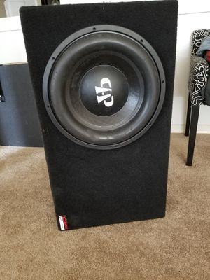 Bocina 15 inches 3000 rms 2 dual coil competition bass for Sale in Seattle, WA