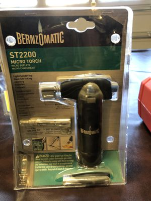Portable mini torch and soldering iron for Sale in Fontana, CA