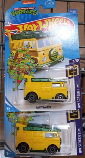 Hot Wheels Teenage Turtle Party Wagon for Sale in Humble, TX