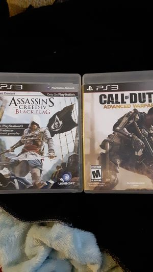 2 ps3 games,5 Blu-ray and 8disc collection for Sale in Stevensville, MT